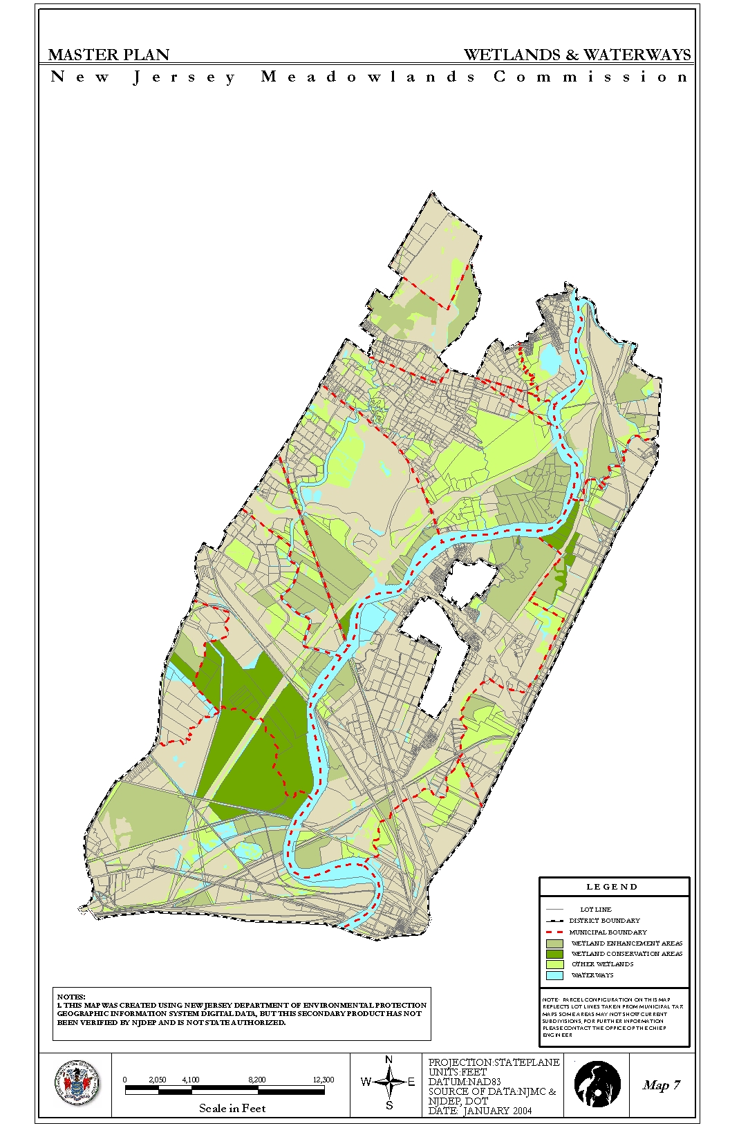 Nj Wetlands Map Urban Habitats    The Meadowlands Before the Commission: Three